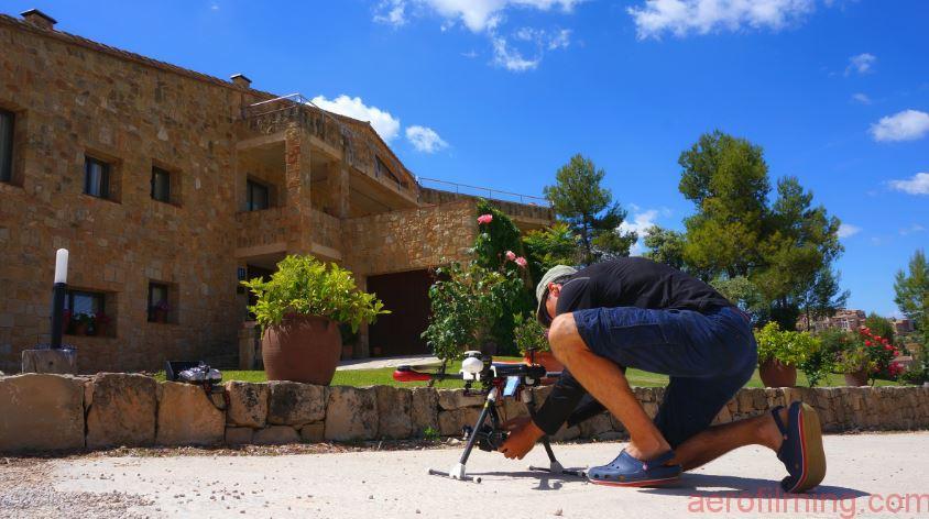 Ajustando Panasonic GH4 para la grabación de un evento :: Filmación aérea con drones